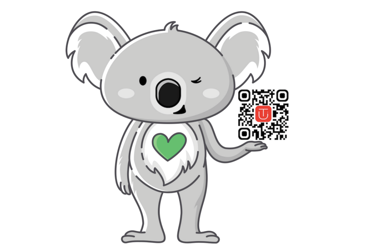 Image for Go To-U with QR code for the App.