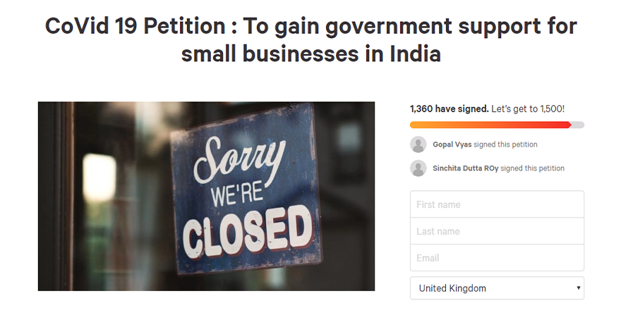 India petition