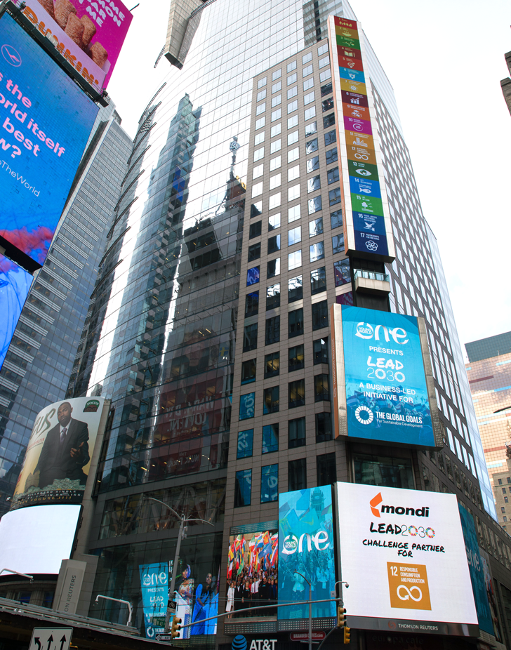 Lead2030 Times Square