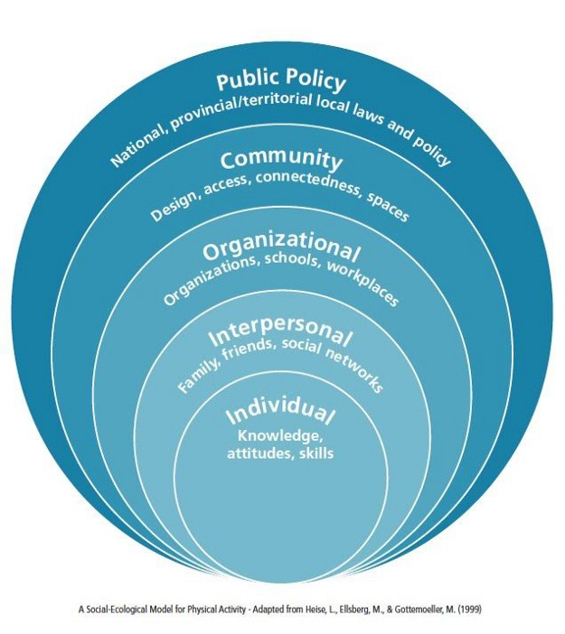 Image: A Social-Ecological Model for Physical Activity