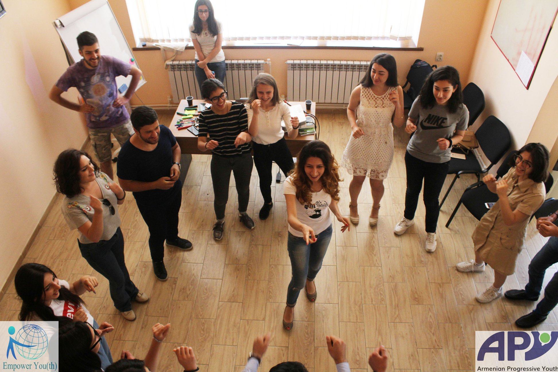 Armenian Progressive Youth, Armenia, young people, leadership