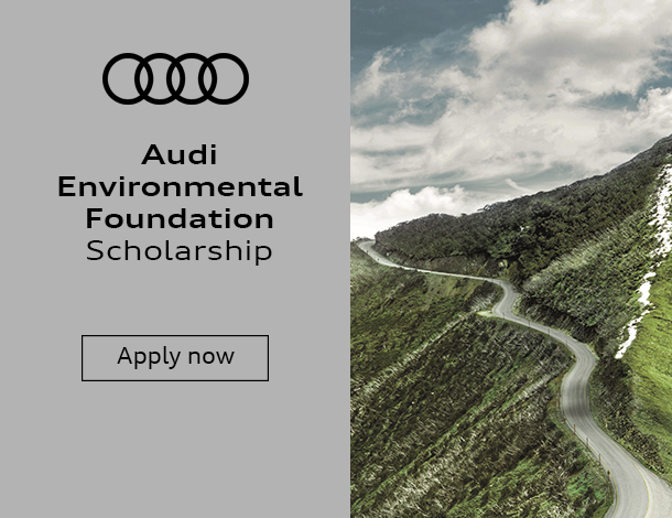 environment, sustainable, sustainability, scholarship, innovation, opportunity, apply, future, audi, mobility