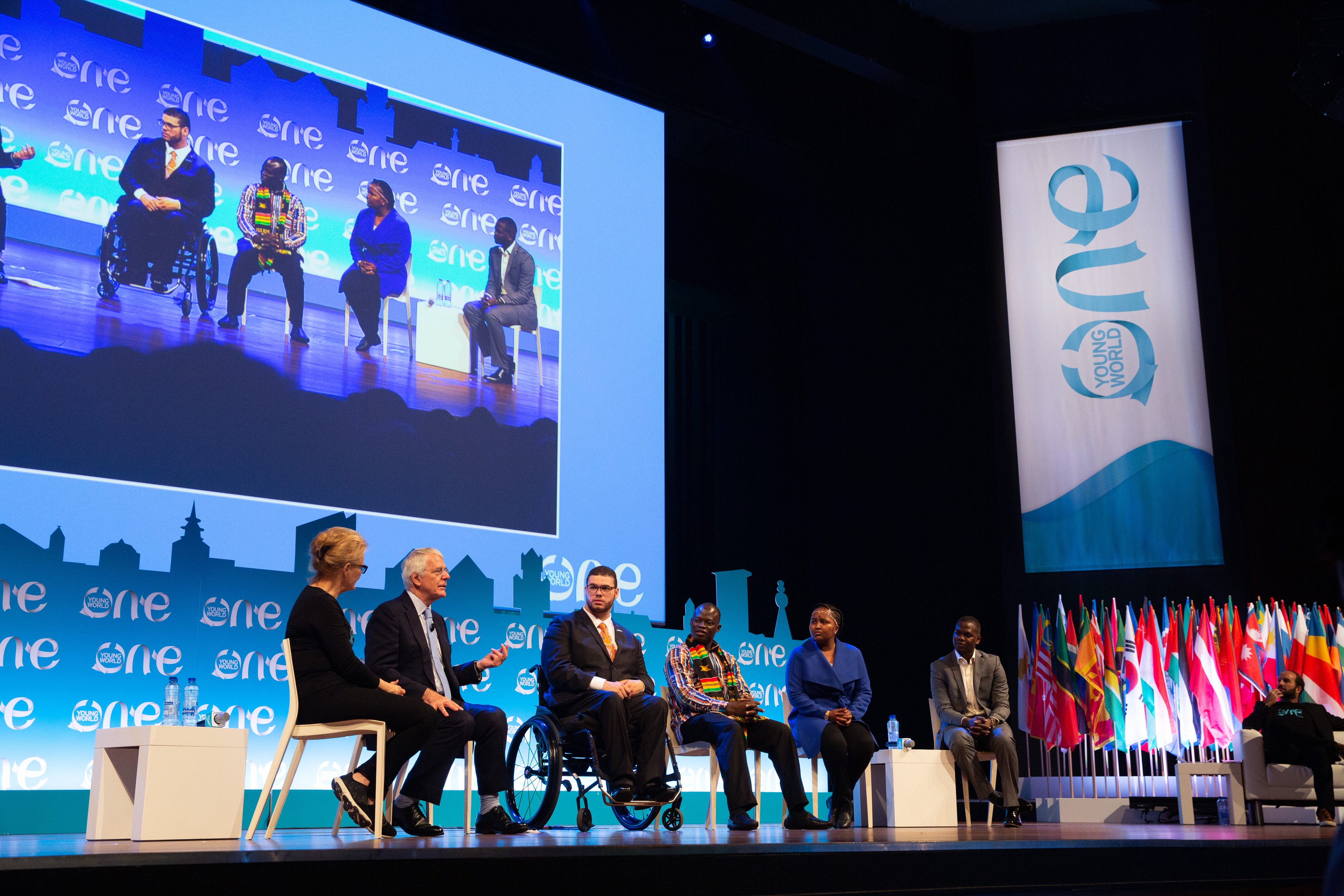 john major, one young world, young politician of the year, oyw