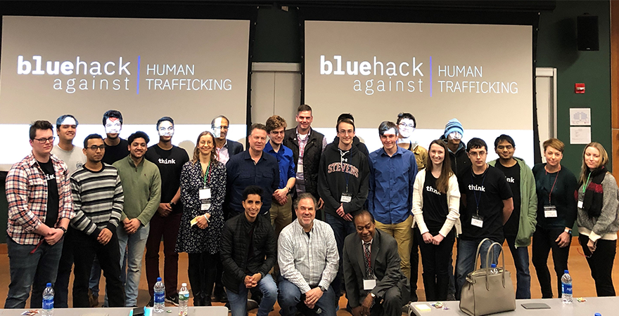 BlueHack Against Trafficking