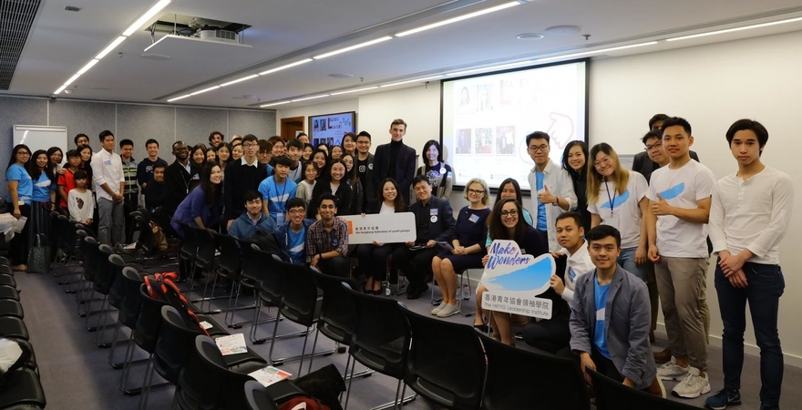 Attendees at the OYW Hong Kong Caucus