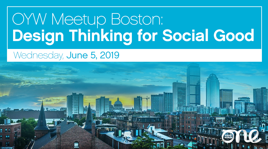 Boston Meetup 5 June 2019 One Young World
