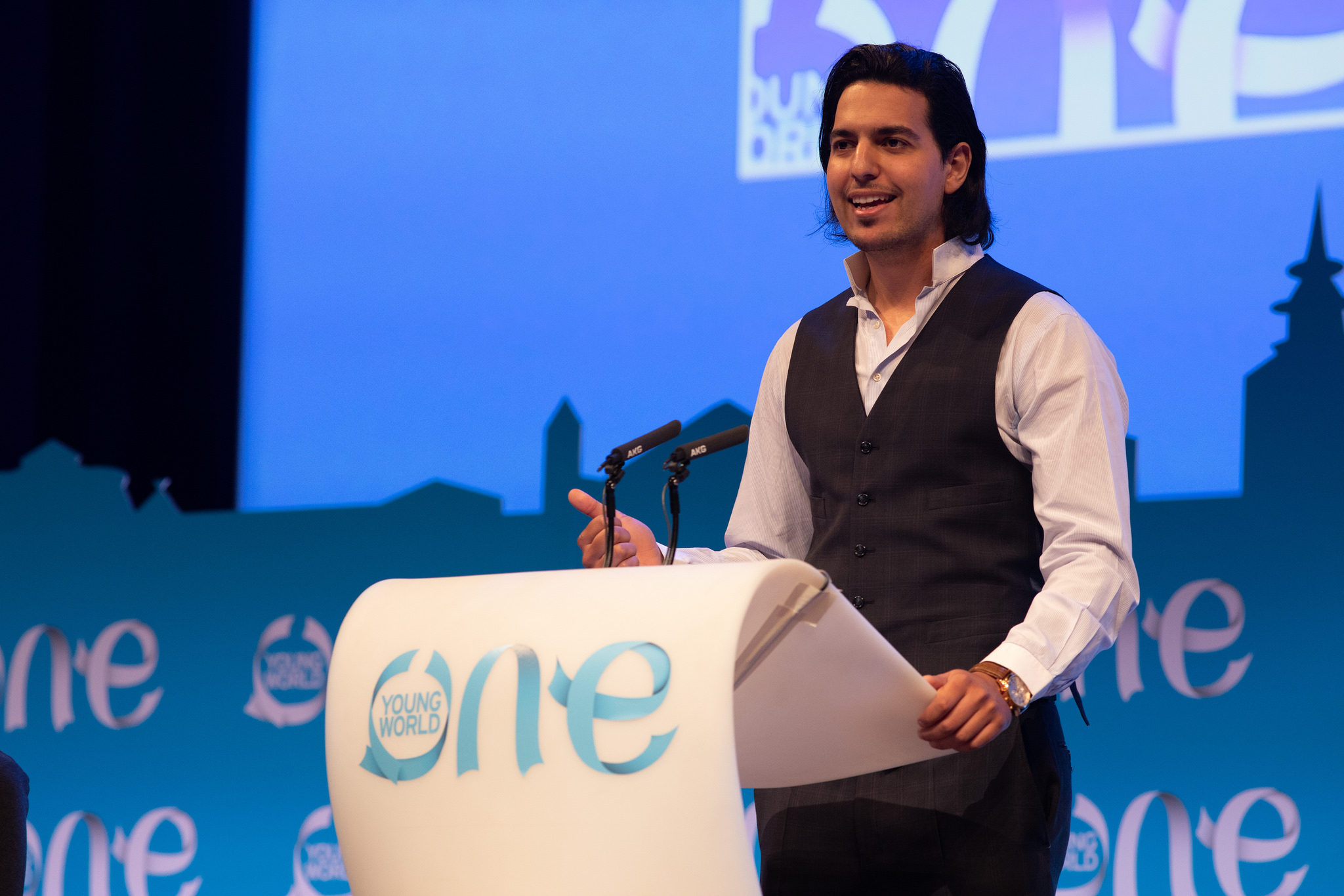 charif hamidi, oyw, one young world, brighton kaoma, prince harry, impact, leaders, young leaders