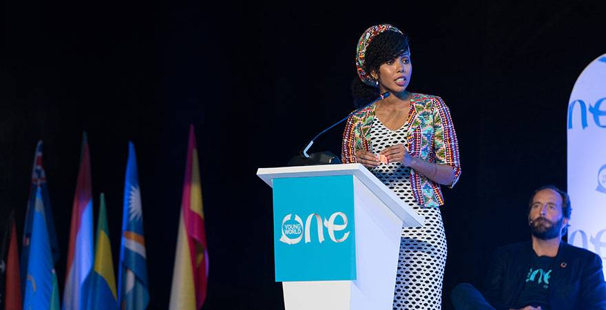 jaha dukureh, oyw, one young world, brighton kaoma, prince harry, impact, leaders, young leaders