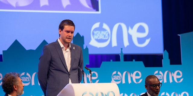 luke hart, oyw, one young world, brighton kaoma, prince harry, impact, leaders, young leaders
